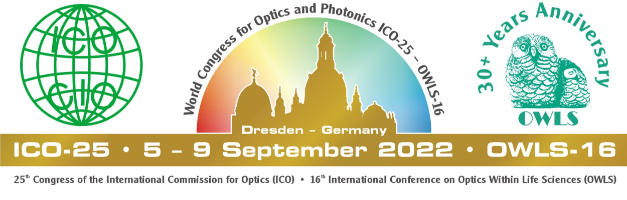 25th Congress of the International Commission for Optics (ICO) and the Conference of International Society on Optics Within Life Sciences (OWLS)